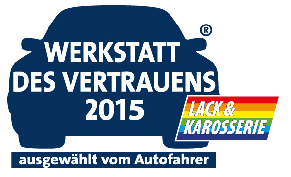 Werkstatt des Vertrauens 2015 - Karosserie und Lack
